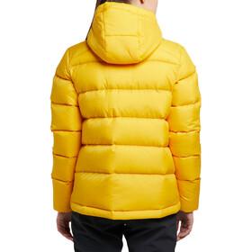 Haglöfs Bield Veste à capuche en duvet Femme, pumpkin yellow